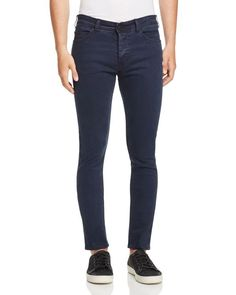 nANA jUDY Signature Slim Fit Jeans in Indigo
