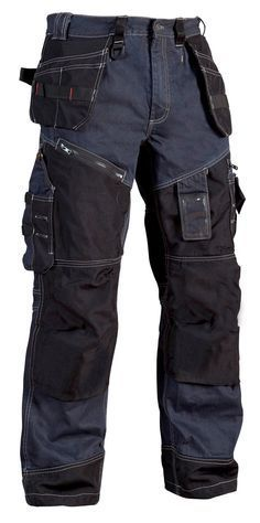 Blaklader 1500 1140 denim work tousers Tactical Clothing 9a9f9fc75e6