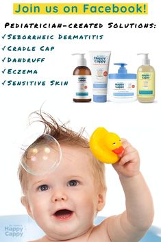 Did you know Dr. Eddie has a facebook page where he shares advice, pediatrician-created solutions, tips, new product releases, and give aways? Come join this awesome community of moms and dads! Eczema Shampoo, Cradle Cap, Mom And Dad, New Product, Did You Know, Dads, Join, Advice, Community
