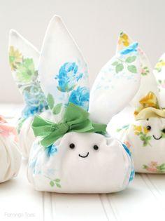 Fat Quarter Easter Bunny