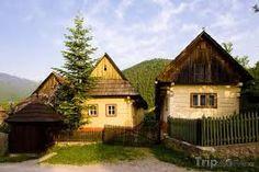 Slovakia - Vlkolínec - UNESCO pamiatka