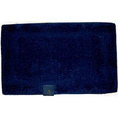 Simple Soft Navy Blue Bath Rugs : Dark Navy Blue Bath Rugs