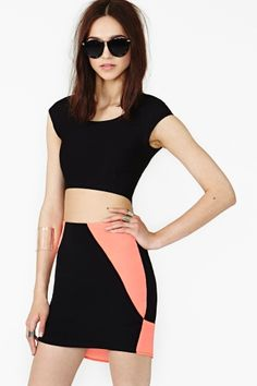 Flasher Skirt by Nasty Gal