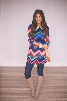 Dottie Couture Boutique - Chevron Dress , $42.00 (http://www.dottiecouture.com/chevron-dress/)