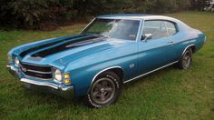 1971 Chevrolet Chevelle SS 2-Door Hardtop 454/365 HP, Automatic presented as lot F126 at Indianapolis, IN 2012 - image1