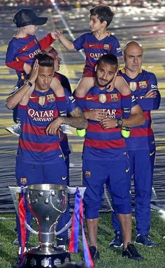 football, fc barcelona, and camp nou image