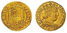 Italian States/Naples/Spanish Rulers AV Ducato ND Naples Mint Ferdinando I Aragona 1458-94