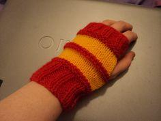 Gryffindor Quidditch Gloves