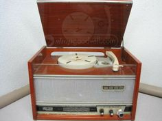 Vintage Raytron FM-TV/Medie/Corte/Record Player