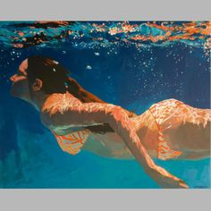 ミュート - 大 - Dark Waters Large Archival Print Signed by Samantha French
