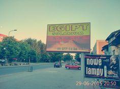 Kasetony, banery, tablice reklamowe... http://www.b-6.pl #agencja #b6 #reklama #słupca #września #konin