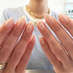 Aycrlic Nails, Nail Manicure, Cute Nails, Pretty Nails, Hair And Nails, Nail Design Stiletto, Nail Design Glitter, Dot Nail Designs, Dot Nail Art
