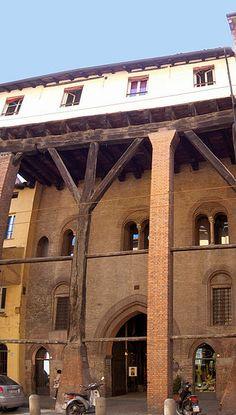 Strada Maggiore, Palazzo Isolani in Bologna, Emilia-Romagna, #Italy