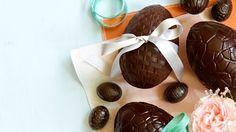 Use homemade dark chocolate to make Easter treats
