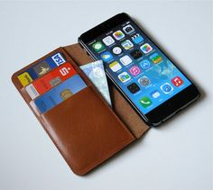 iPhone 6 case iPhone 6 leather case iPhone 6 by NeroccoCases