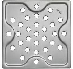 Ralo simples quadrado 15x15 cm