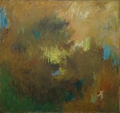 Albert Kotin, Untitled, 1959 Oil on canvas, 48 x 50 inches
