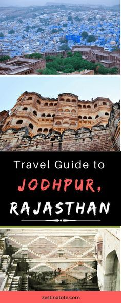 Jodhpur with the majestic Mehrangarh Fort, stunning architecture, spicy local food and friendly vibes - is a must-do on any itinerary to Rajasthan. #india #rajasthan #jodhpur #bluecity #jodhpurtravelguide #thingstodo #citybreak #whattodoinjodhpur
