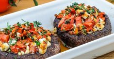 Portobello, Love Food, A Food, Food And Drink, Vegas, Clean Eating, Cooking Recipes, Vegetarian, Yummy Food