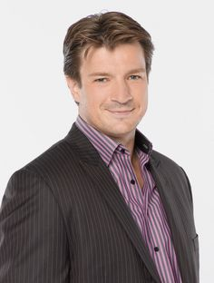 Nathan Fillion was born (1971) and raised in Edmonton, Alberta.  He is currently starring as Richard Castle on the ABC series Castle. He is also known for his portrayal of the lead role of Captain Malcolm Reynolds in the television series Firefly and its feature film continuation, Serenity.