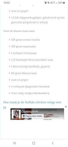 Buffalo Chicken, Fried Chicken, Chicken