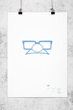 Posters Minimalistas de Pixar