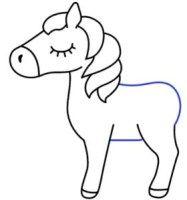 رسم يونيكورن للاطفال المبتدئين بالخطوات رسمات انمي وشخصيات كرتونية بالرصاص سهلة وكيوت Character Fictional Characters Art