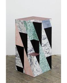 Robert Normand - Stele N. Memphis Design, Deco Design, Loft Design, Design Design, Home And Deco, Art Object, Textures Patterns, Geometric Shapes, Decoration
