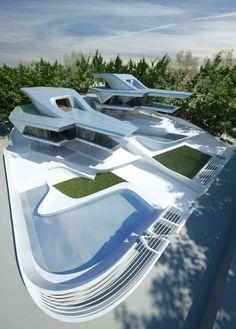 Nassim Villas in Singapore. Zaha Hadid Architects