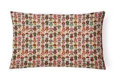 Fronha avulsa Corujas em Cores: as corujas mais descoladas e coloridas no seu travesseiro!!