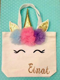 Adorable DIY Unicorn Bags