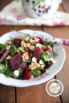 Kırmızı Pancar Salatası (Cevizli Fındıklı) – Mutfak Sırları – Pratik Yemek Tarifleri