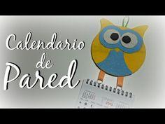 TUTORIAL: Calendario Buho de pared | Mundo@Party - YouTube