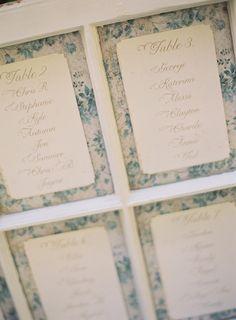 #seating-chartPhotography: Linda Chaja Photography - lindachaja.comFloral Design: NLC Productions - nicosb.comEvent Coordination + Design: Magnolia Event Design - magnoliaed.comRead More: http://stylemepretty.com/2012/03/12/backyard-wedding-by-linda-chaja-photography-magnolia-event-design/