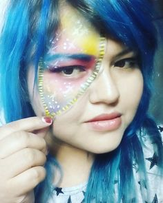 #makeup #galaxia #colors #cierre #luminoso