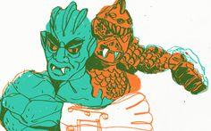 He-Man series on Behance
