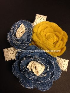 Super cute pin using Stampin' Up!'s spiral flower die     http://stampinbj.typepad.com/weblog/2014/04/too-excited-to-not-share.html    BJPeters