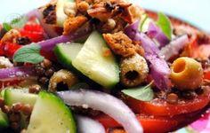 Salade Griekse stijl