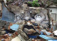 Grafite: Grafite nas Favelas do Brasil — Creative (and quite deep) Street art