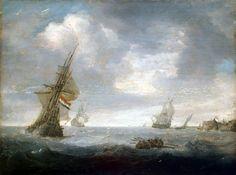 Ян Порселлис, «Море в пасмурный день»
