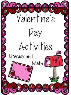 This packet includes LOTS of great Valentine's activities that are designed to support the common core standards, while still incorporating the fun of Valentine's Day. All of the following activities are included:  **Word Wall Cards **Valentine Patterns  **Rhyming Words  **Beginning Sounds  **Ending Sounds  **Making New Words **ABC Order  **Making Categories  **Counting Syllables  **Valentine Page for Mom & Dad  **Valentine Page  (anyone) **Matching Colors with Color Words **How Many ...