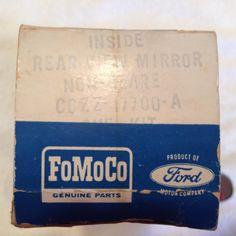 1966 Mustang Day Nite Rear View Mirror 66 K Code Shelby in FoMoCo Box | eBay