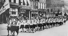 march down Bedford Avenue in honor of Brooklyn Day, around 1920 More ephemeralnewyork.wordpress.com