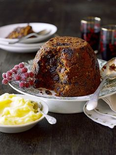 Fat free christmas pudding