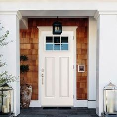 Steves & Sons 32 in. x 80 in. 6 Lite Left-Hand Outswing Primed White Steel Prehung Front Door with 4 in. Wall ST30-6L-28-4OLH at The Home Depot - Mobile