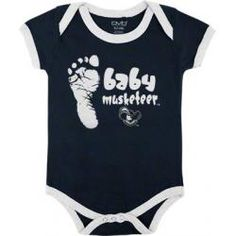 i will make my baby wear this Xavier University, Musketeers, Creepers, Baby Wearing, Infant, Construction, Navy, How To Wear, Clothes