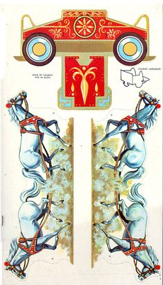 Ben Hur 1959 Golden Press m unmerged - Bobe - Álbumes web de Picasa Cardboard Toys, Paper Toys, Paper Crafts, 3d Templates, Paper Car, Toy Theatre, Bobe, Paper Animals, Up Book