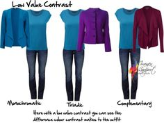 Low value contrast - how do you make your outfit look more interesting http://www.insideoutstyleblog.com/2014/11/7-important-factors-for-working-with-contrast.html
