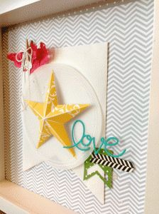 Christmas Star Single Stamp!  Dawn Bourgette -Dawn's Creative Chalet www.dawnscreativechalet.com