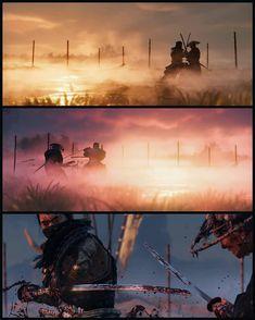 Samurai Art, Samurai Warrior, The Last Samurai, Ninja Art, Ghost Of Tsushima, Comic Panels, Dark Horse, Dragon Age, Art Direction